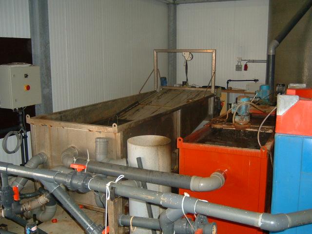 Галерея замкнутых систем водоснабжения для содержания гидробионтов